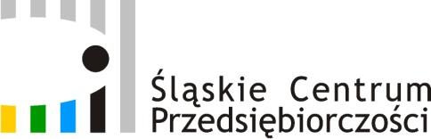 Logo Śląskie Centrum Przedsiębiorczości